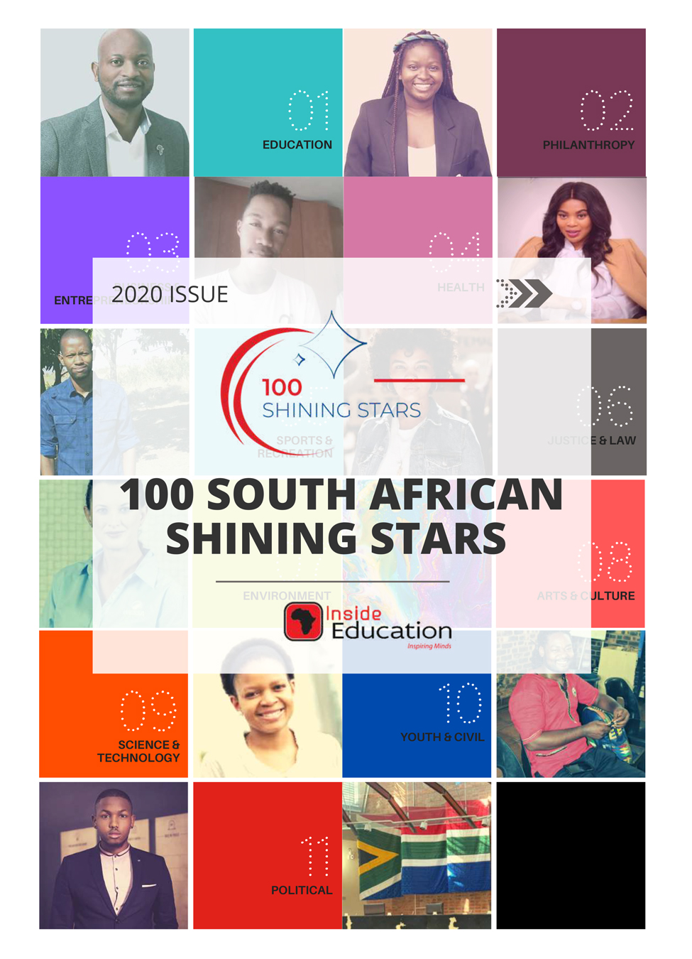 100 South African Shining Stars for 2020 Revealed